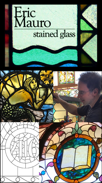Eric Mauro leaded glass stained glass